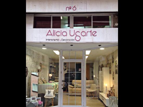 Rotulo Alicia Ugarte