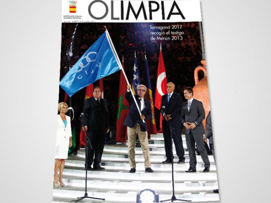 Portada Revista Olimpia