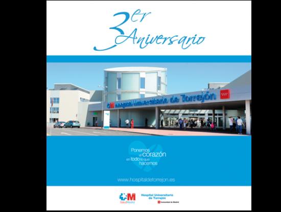 Trasera Hospital de Torrejón