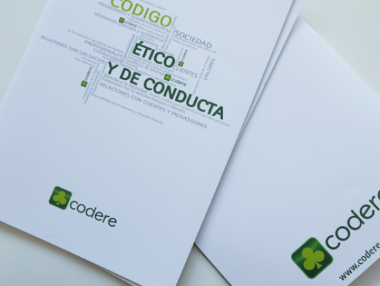 folleto codere codigo etico y de conducta