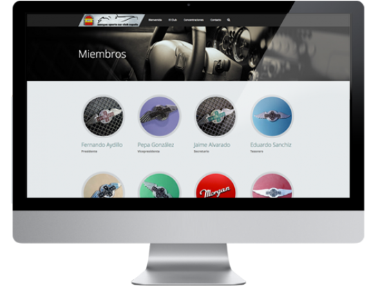 Web  club morgan_miembros