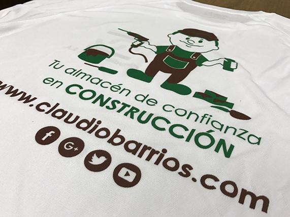 diseño camiseta corporativa