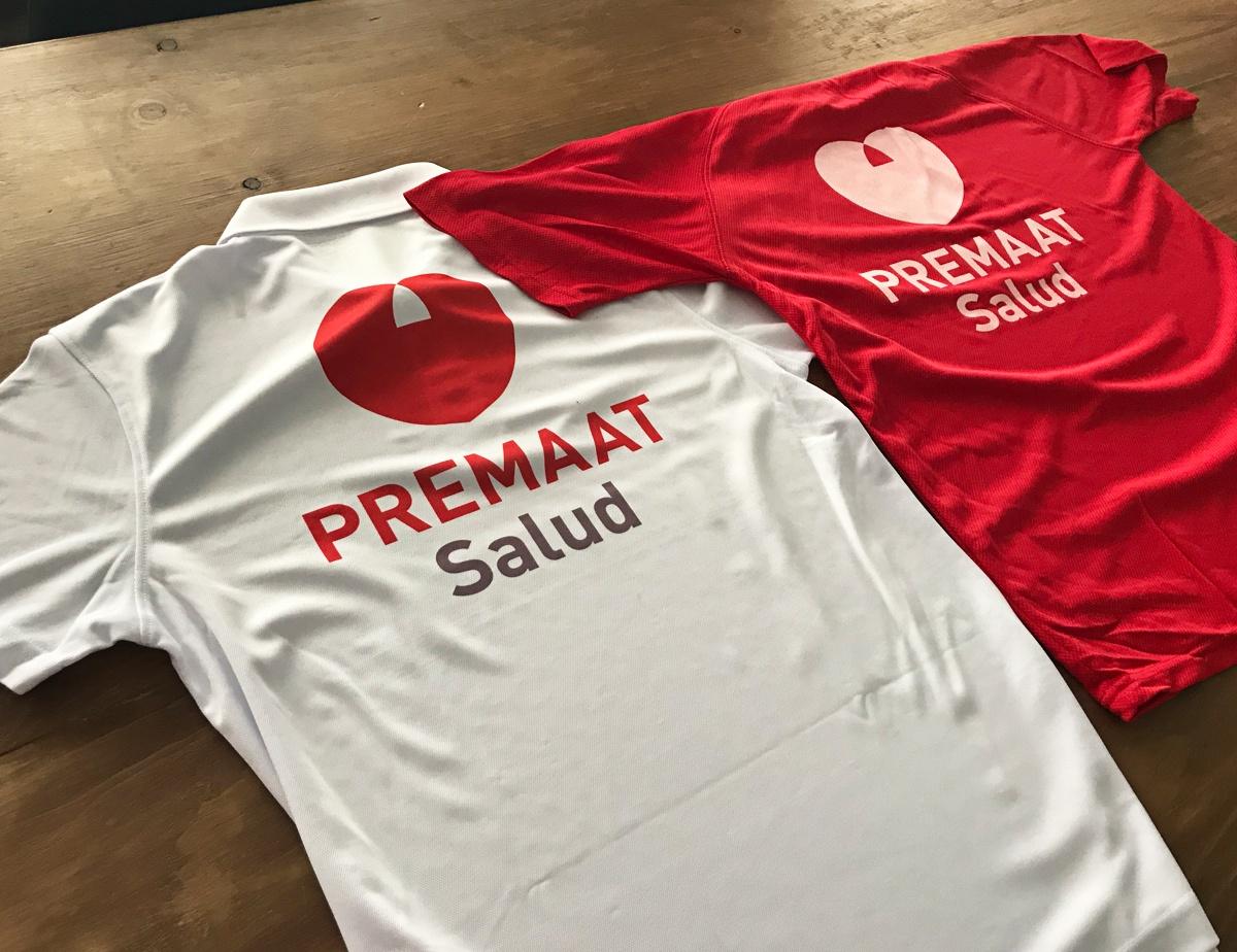 camisetas para evento deportivo