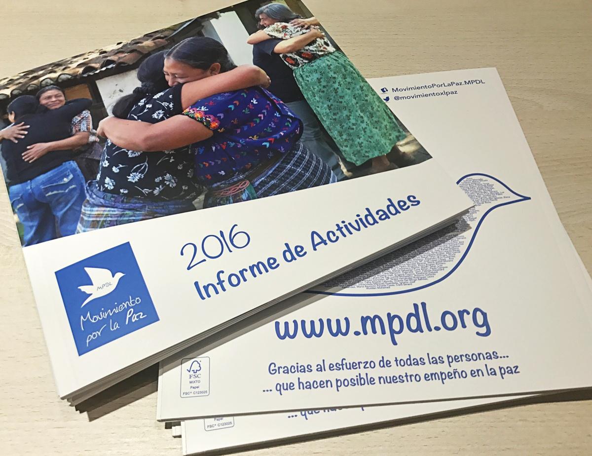 informe anual MPDL