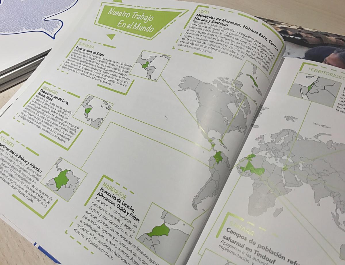 mapa accion informe anual