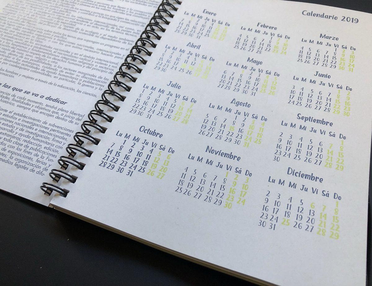 agenda interior inicio
