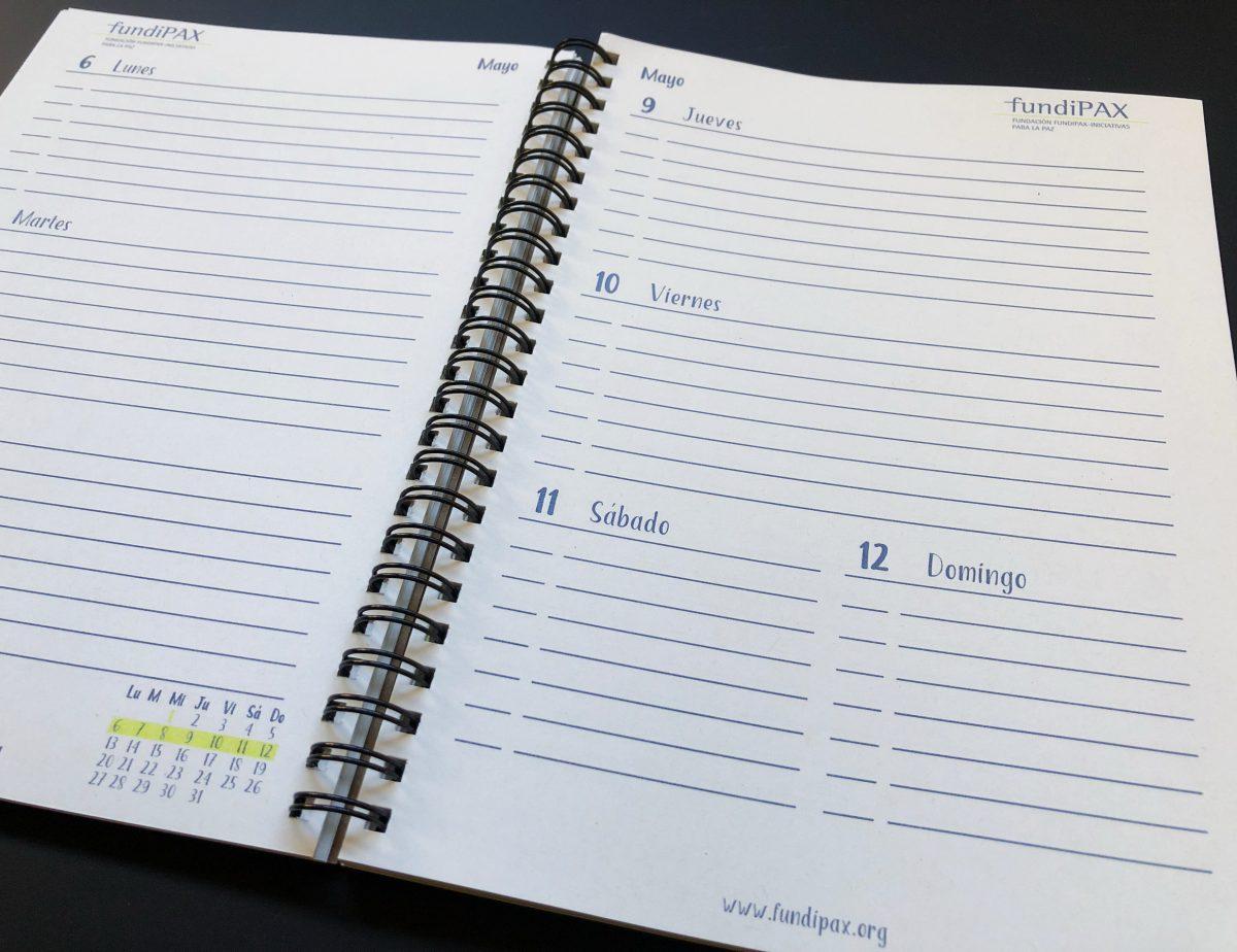 interior semana agenda