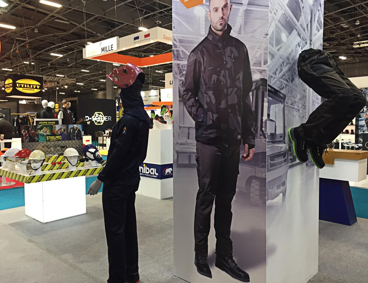 zona central stand paris