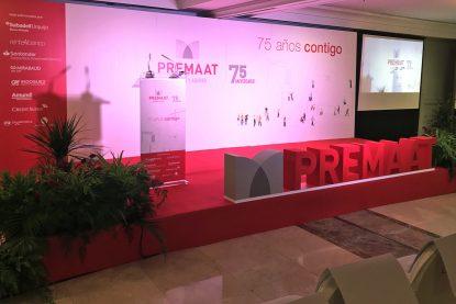 Evento Premaat. 75 Aniversario