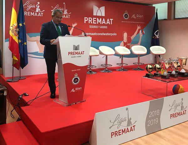 Evento presentación Liga Premaat