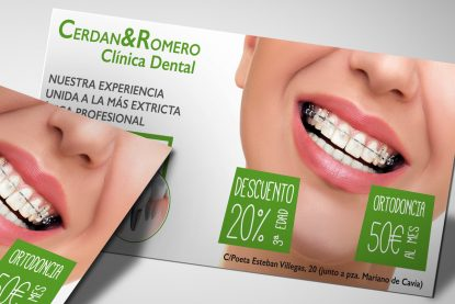 Flyer Clínica Dental